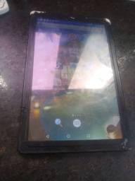 Tablet com marcas de uso