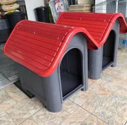 Casinha resistente para cachorros portes médios