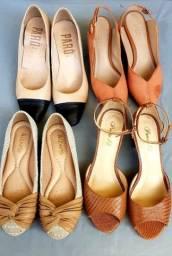 Sapatos feminino.