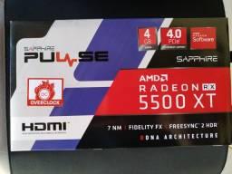 Placa de Vídeo RX 5500XT 4GB