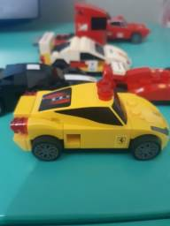Carrinhos de Lego Ferrari Shell