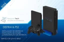 Destrava PS2 para jogar no Pendrive