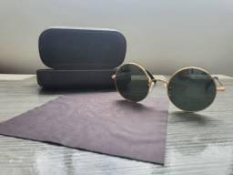 Óculos de sol unissex Chilli Beans Harry Potter metal fosco