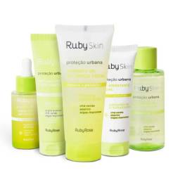 Kit Linha Ruby Skin Proteção Urbana - 6 produtos