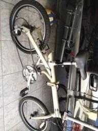 Bicicleta dobrável 24v