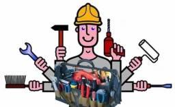 Executo pqnos consertos, montagem e desmontagem de móveis, painéis, etc