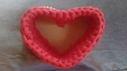 Cachepô formato coração