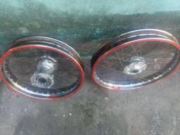 Rodas de bros 160 freio a discos