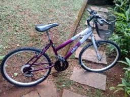Bicicleta Semi Nova Aro 20 com Marcha