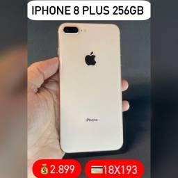 iPhone 8 Plus 256gb gold, aceitamos seu iPhone usado como parte do pagamento.