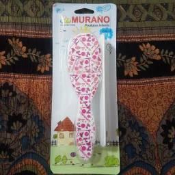 Escova e pente Murano produto infantil