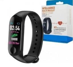 Relógio Inteligente Pulseira M3 Smartwatch Monitor Sport