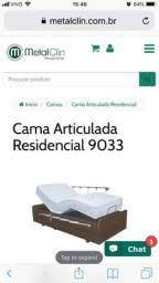 Cama Residencial Articulada 9033, Metalclin Hospitalar