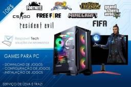 Instalação de Jogos PC
