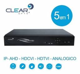 dvr clear c/hdmi modelo t16-v de 16 canais usado em perfeito estado aceito cartão-pix