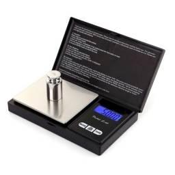 Mini balança de altíssima precisão c/ Maleta 0,01 a 500 Gr (faltando)