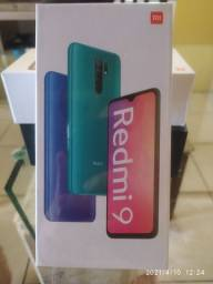 Xiaomi redmi 9 carbon grey 4/64gb novo lacrado.
