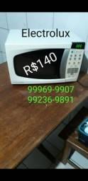 Micro-ondas Electrolux 18L funciona normal não entrego R$140