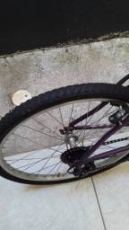 Vendo bike semi nova aro 24