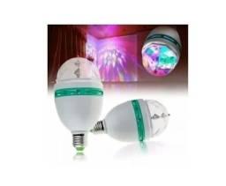 <br><br>LÂMPADA COLORIDA PARA FESTAS / LED FULL COLOR ROTATING LAMP_C389