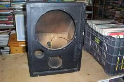 4 caixas acustica para retorno sem falante