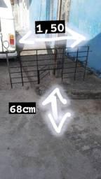 Grade pra Barraca ou Mercearia,150 por 68cm