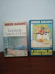 Livros Usados - Jorge Amado 3 por 10$