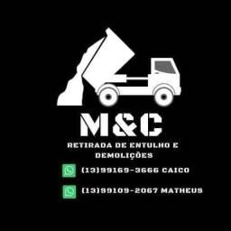 M&C retirada de entulhos e Demolição