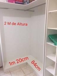"""Móvel para Loja-closet em """"L"""""""