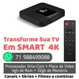 Tv Box TX9 OCTA-CORE - Transforme sua TV em SMART TV
