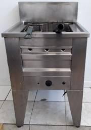 Fritadeira a Gás 50 Litros água e óleo ( Super conservada)
