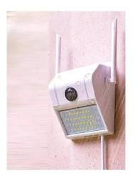 Câmera Ip Externa Wi-fi Com Led Nuvem Luatek 3020vn<br><br>