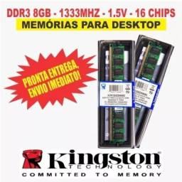 Memória ddr3 8gb desktop
