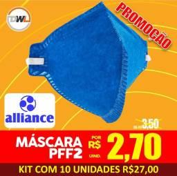 Máscara PFF2 Alliance - Promoção 2,70(unid.)