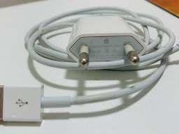 Carregador original iphone fonte e cabo