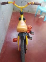 Bike CALOI pra criança toda perfeita, vai com as rodinhas '!!!