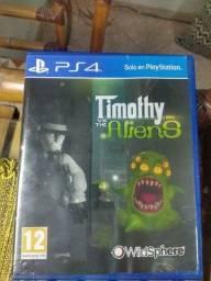 Jogo PS4 Timothy vs the Aliens