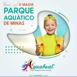 Venha ser sócio do maior parque aquático de MG