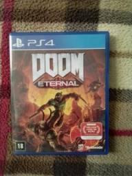 Doom Eternal para PS4 / Somente trocas / Leia o anúncio