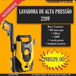 LAVADORA DE ALTA PRESSÃO TRAMONTINA