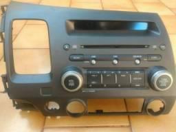 Rádio toca cd/mp3 Original Honda New civic 07/11