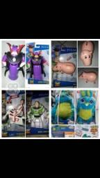 Personagens Toy Story Mattel novos Duck, Zurg, Porco, Buzz, Coelho
