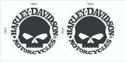 Harley Davidson Adesivos