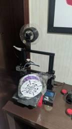 Impressora 3D Creality Ender 3 Pro + 1,5kg de Filamento PLA 3D Prime