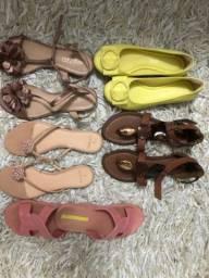 Combo sandálias femininas 35
