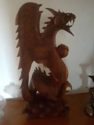 Dragão decorativo tradicional de Bali
