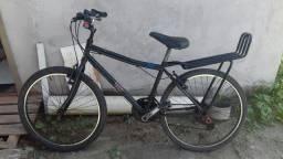 Vendo bike aro 24 com bagageiro