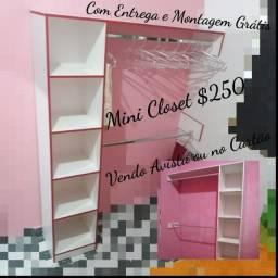 Mini Closet  Novo $250