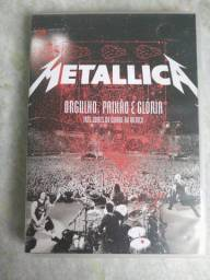Box 1 Dvd + 2 Cds Metallica - Orgulho, Paixão E Glória