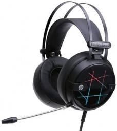 Fone C/mic Game Stereo Usb H160g Led Hp - 4qn20aa
